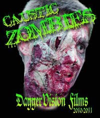 Caustic Zombies, movie, poster