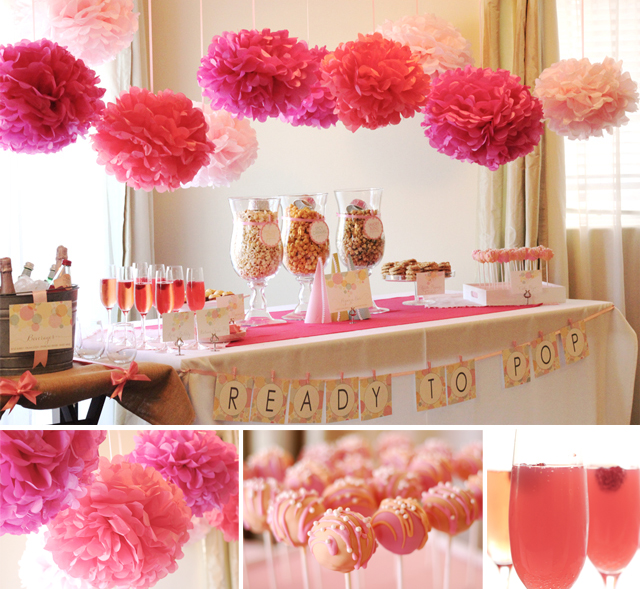 Elephant Girl Baby Shower Ideas
