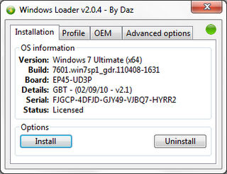 Windows 7 Loader v2 0.4