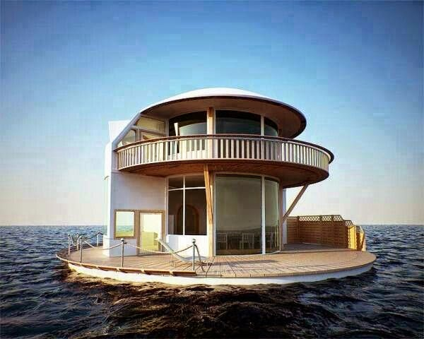 Floating House Building A Floating Home