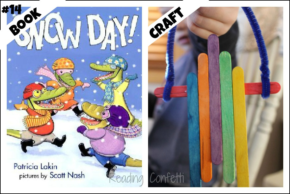 25 winter books and crafts for preschoolers and beginning readers from