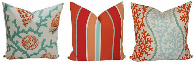 outdoor beach house pillows