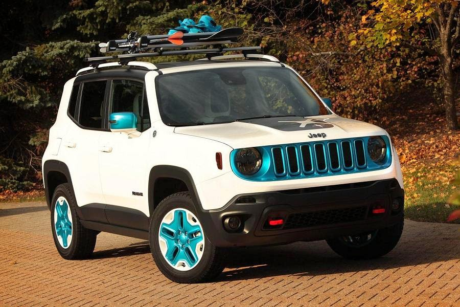 Jeep Renegade Frostbite Concept (2015) Front Side