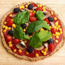Sprouted Quinoa Pizza