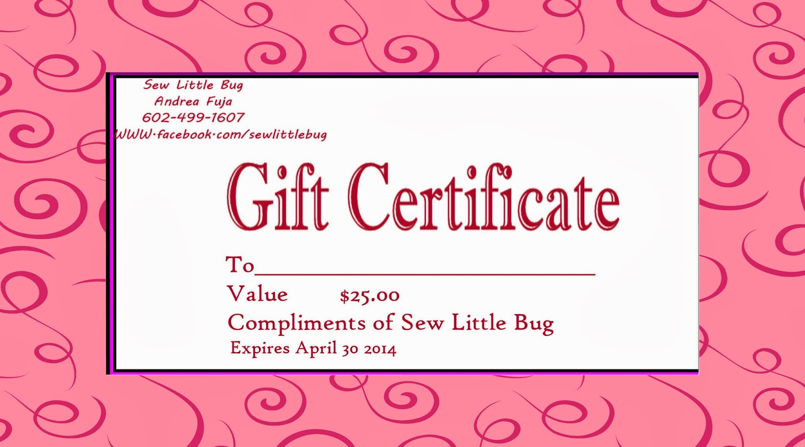 Sewing gift certificate template mary kay gift certificates related keywords mary kay reheart Images