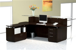 Sterling Reception Desk by Mayline