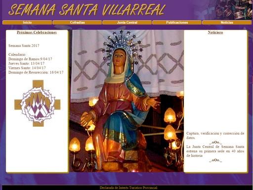 Página en construcción sobre la Semana Santa en Villarreal