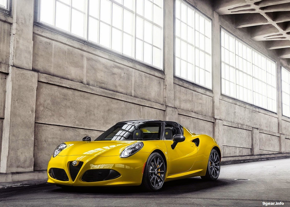 2015 alfa romeo 4c spider 1750 cc turbocharged car reviews new car pictures for 2018 2019. Black Bedroom Furniture Sets. Home Design Ideas