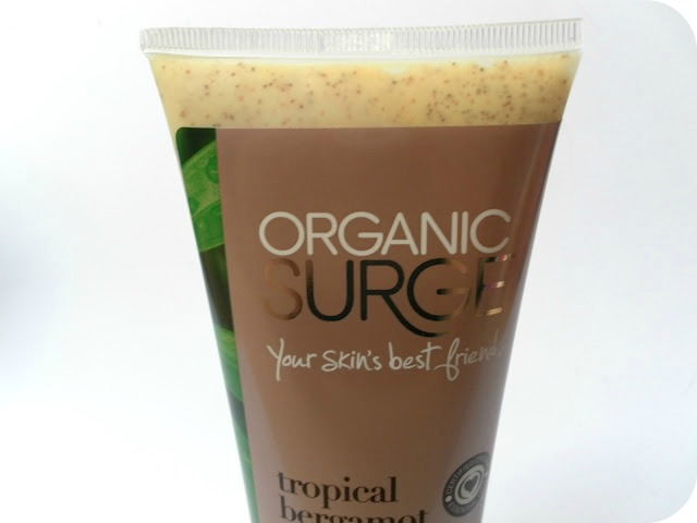 A picture of Organic Surge Tropical Bergamot Body Scrub