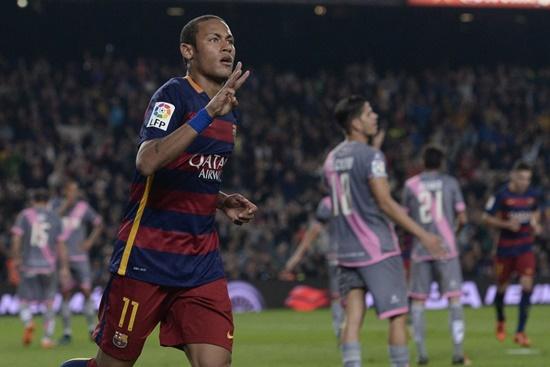Barcelona 5 x 2 Rayo Vallecano - La Liga 2015/16
