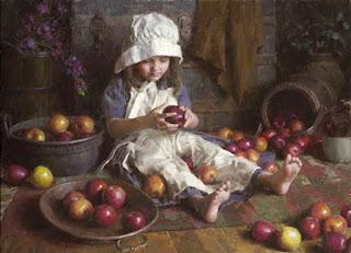 Impresionismo Retratos Americanos Ninos