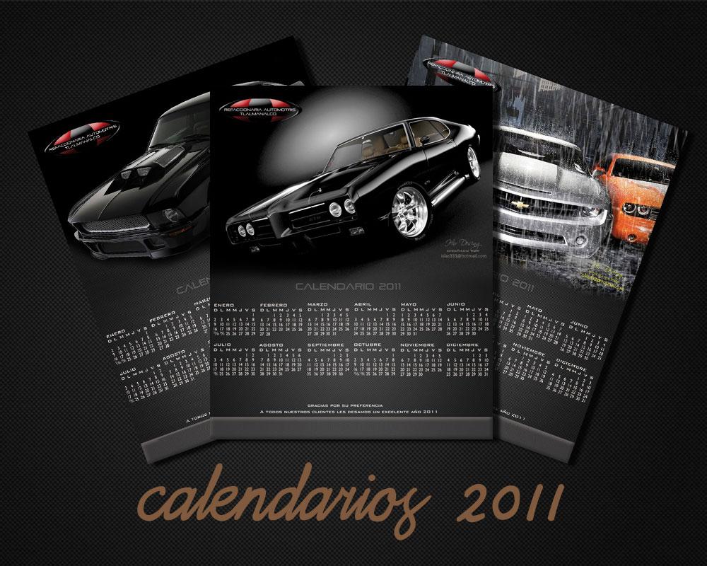 Dise o calendarios 2011 propios taringa - Disenos de calendarios ...
