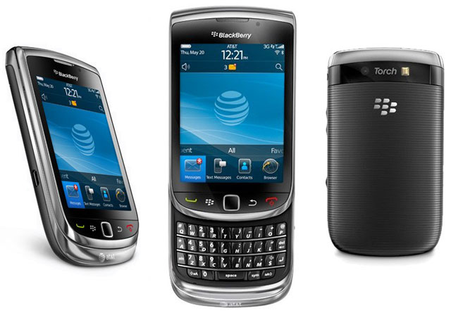 Jenis BlackBerry Torch Terbaik