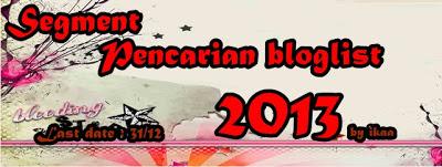 Segment pencarian bloglist 2013