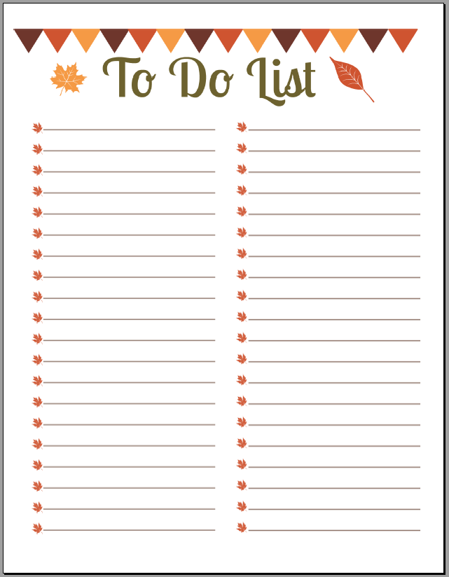 91 best Printable To Do List images on Pinterest | Free printables ... | to do list to print