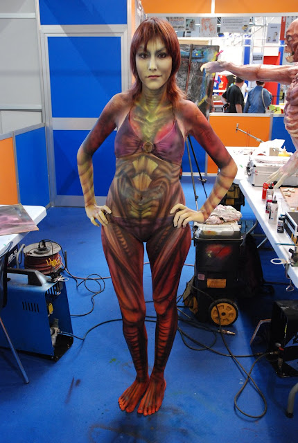 Body Painting Sarah Kerrigan por VegaNya