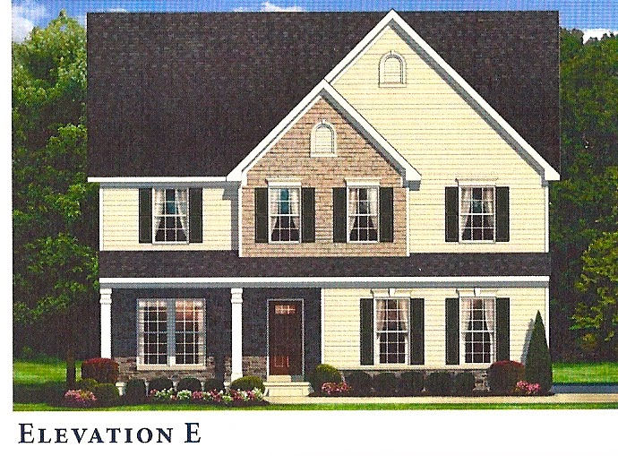 Elevation Stone Price : Building rome with ryan homes sweet home model