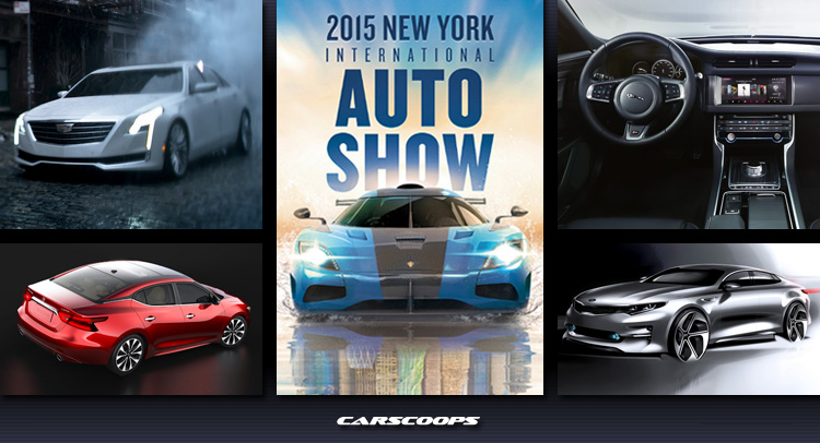 A To Z Guide To The 2015 New York Auto Show Day 2