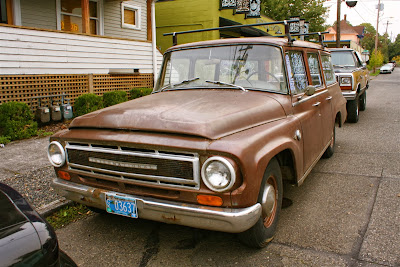 1968 International Harvester 1100 Suburban SUV.