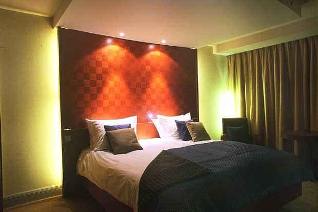 bedroom design lighting