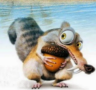 Scrat Ice Age 2002 animatedfilmreviews.filminspector.com