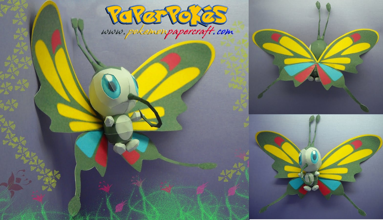 Butterfly paper craft