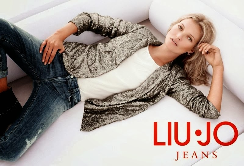 Kate Moss HQ Pictures Liu-Jo Magazine Photoshoot Spring 2014