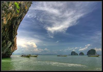 Пханг-Нга на лодке