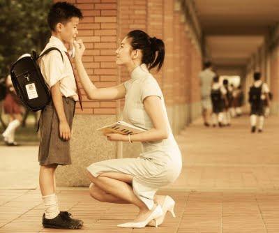 Foto Kasih Sayang Seorang Ibu Kepada Anaknya