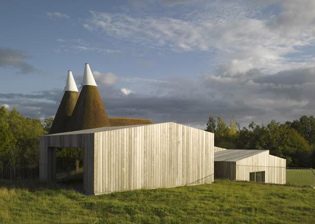 Оригинальный дом с куполами