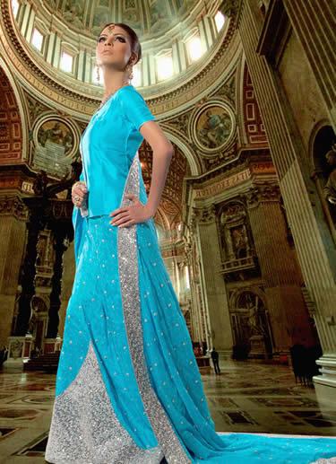 pakistanidressesshalwarkameez1 - Blue fashipon dresses
