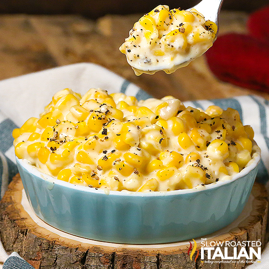 ... Italian - Printable Recipes: Best Ever Slow Cooker Creamed Corn