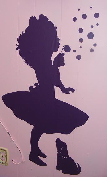 Silhouette Little Girl Blowing Bubbles | www.imgkid.com ...