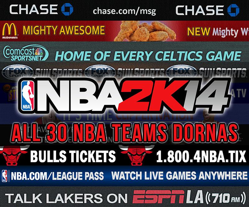 NBA 2K14 Dornas Mod Pack