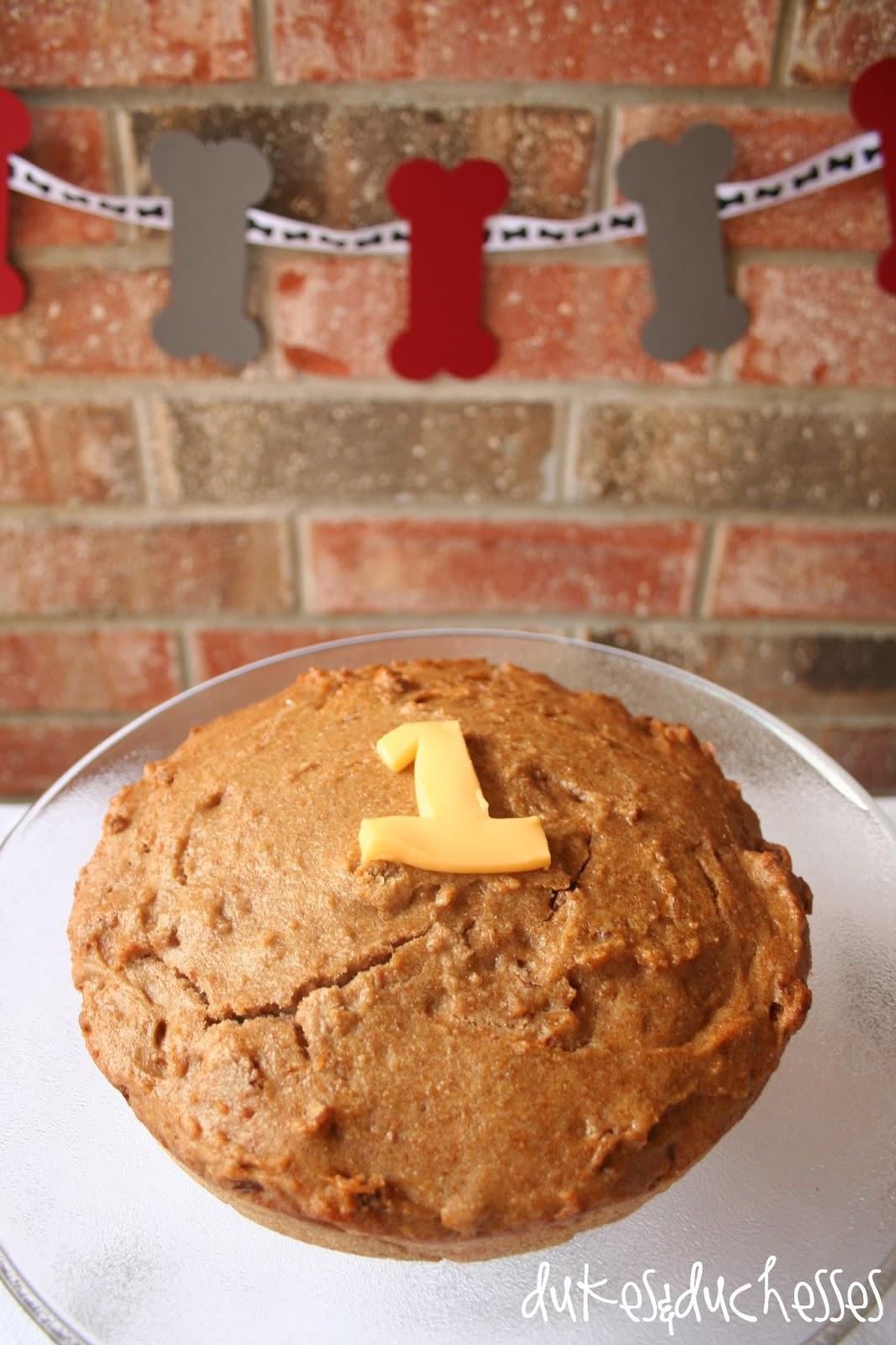 Dog Birthday Cake Recipe Dukes And Duchesses