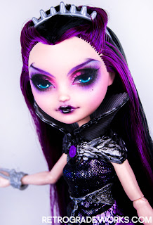 Ever After High Custom Repaint Raven Queen Doll