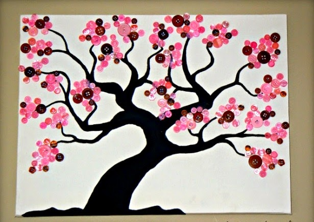 home decoration with button craft arts and crafts ideas projects