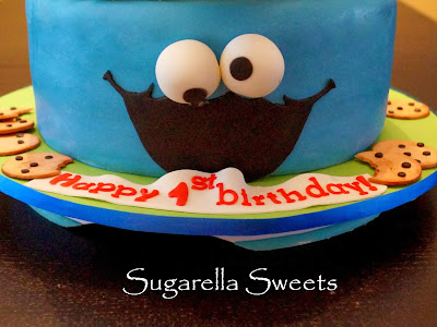 http://sugarellasweetshowto.blogspot.ca/2013/12/how-to-make-cookie-monster-cake.html