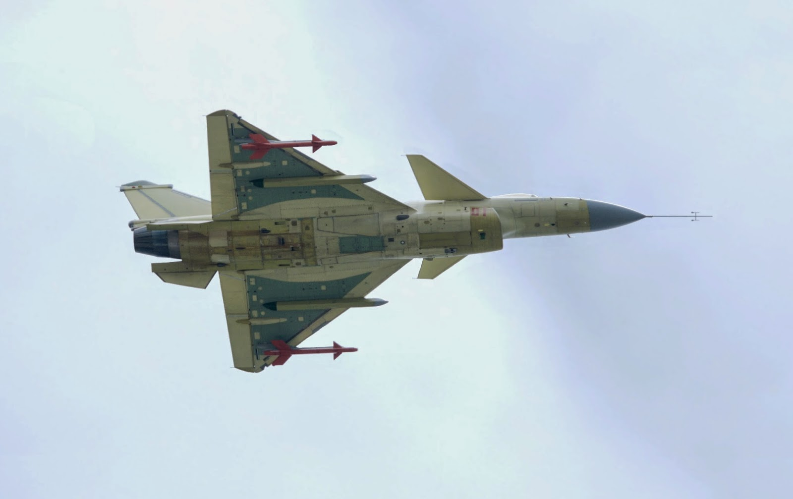 PLAAF J-10B Multirole Fighter