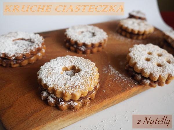 24. Kruche ciasteczka z Nutellą.