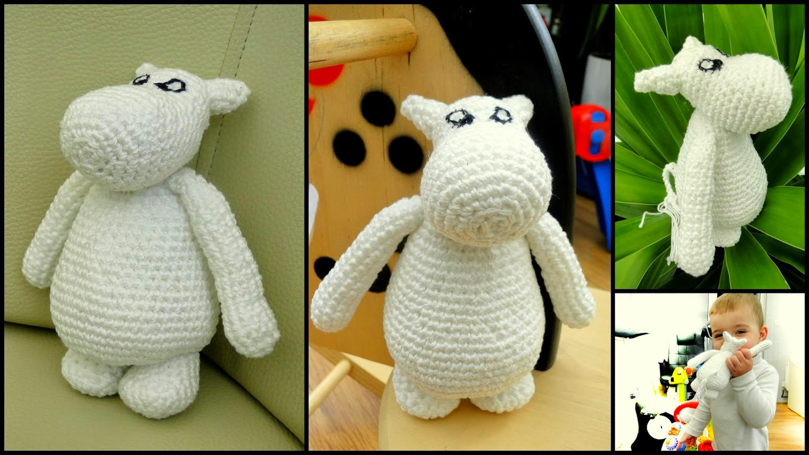 Easy Crochet Moomin Pattern