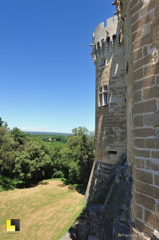 tours du château de suze la rousse photo blachier pascal
