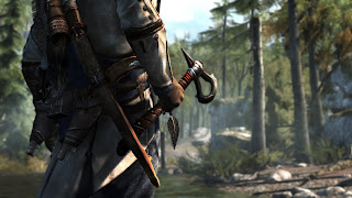 Assassin's Creed Ezio with Axe Close Up 3D HD Wallpaper