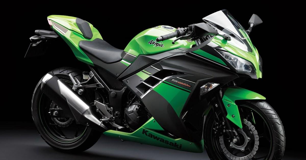 Gambar Modifikasi Motor Kawasaki Ninja 250 SE Hijau