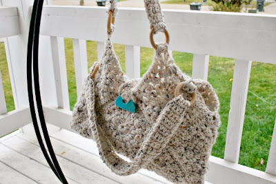 Lined Granny Square bag