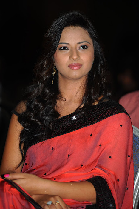 isha chawla at poola rangadu audio launch, isha chawla saree glamour  images