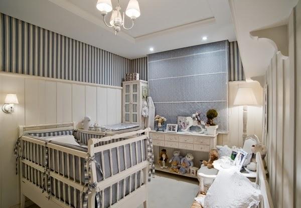 sua casa na moda, por Mika Vital O Quarto do Bebê ~ Quarto Safari Cinza