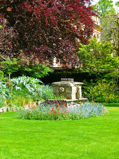 Balliol, Fellows' Garden