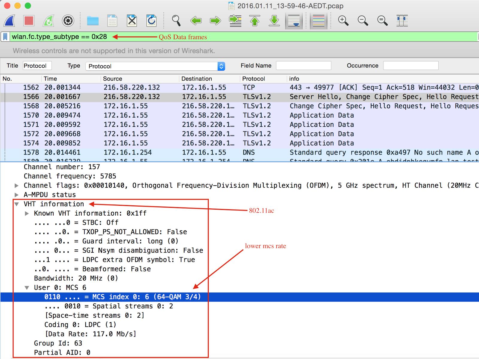 Ruwan\'s techno Blog: Wifi capture has no unicast data frames