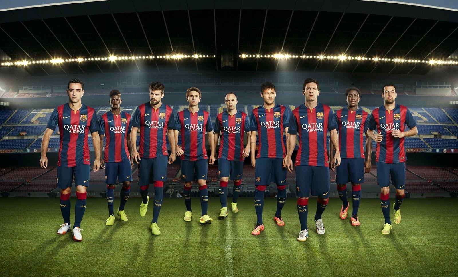 FC Barcelona 2014-15 Home Kit